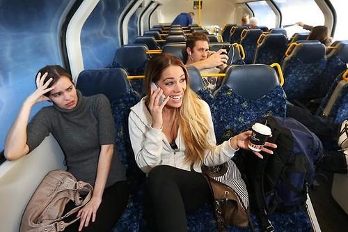 Talking-loudly-in-public-transportation